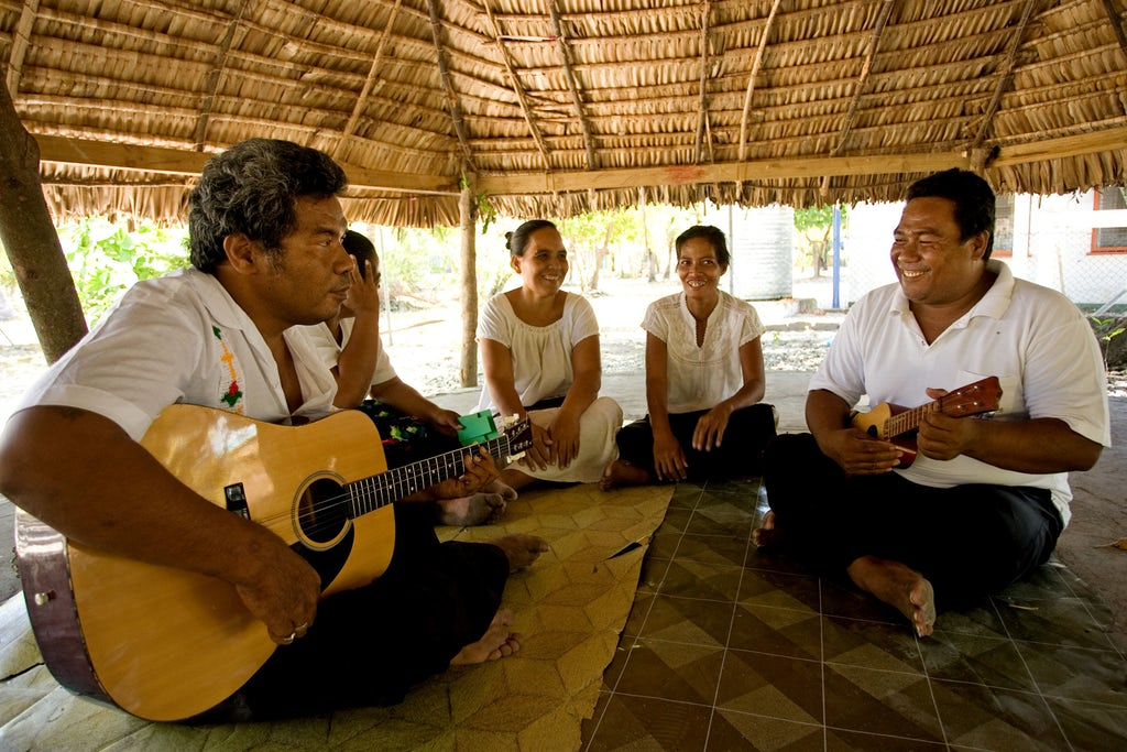 Baha'i devotional gathering in South Tarawa, Kiribati