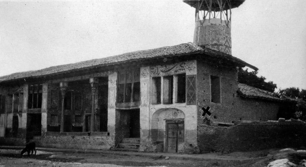 Mosque in Amul, Mazindaran, Iran, where Baha'u'llah was tortured