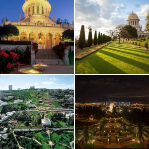 Haifa Area: Shrine of the Bab and Terraces