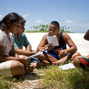 Baha'i study circle in South Tarawa, Kiribati