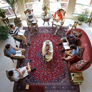 Baha'i study circle in Austin, Texas, United States
