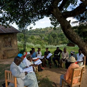 Baha'i study circle in Tiriki West, Kenya