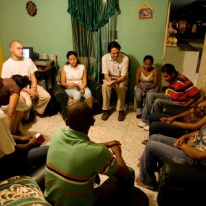 Baha'i devotional gathering in Puerto Tejada, Colombia