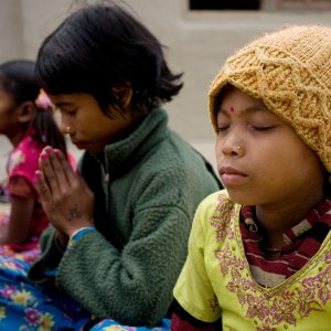 Baha'i devotional gathering in East Kanchanpur, Nepal