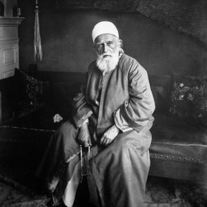 Portrait of 'Abdu'l-Baha in New York December 1912