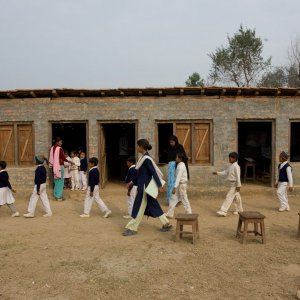 Baha'i Inspired Saraswati School in East Kanchanpur Nepal