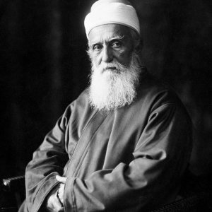 Portrait of 'Abdu'l-Baha, Paris, France, October 1911