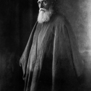 Portrait of 'Abdu'l-Baha in Paris, France, October 1911