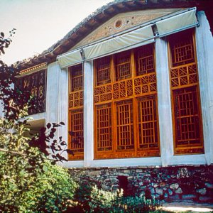 The house of Baha'u'llah in Takur, Mazindaran in September 1975