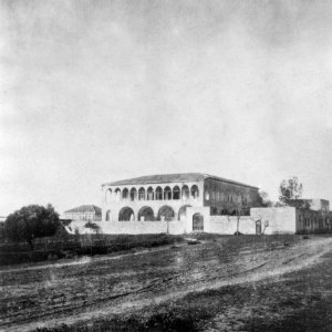 Mansion of Bahji where Baha'u'llah spent the final years of His life