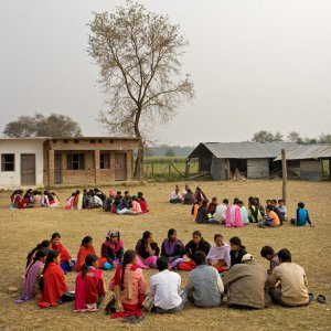 Baha'i study circles meeting together in East Kanchanpur, Nepal